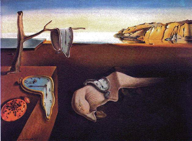 The Persistence of Time by Salvadore Dali
